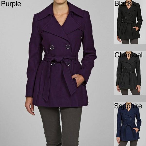 Via Spiga Women's Wool Double-breasted Coat