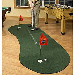 Expand-a-Green Felt/Foam 10-panel Modular Putting System (3.5' x 8') - Thumbnail 0