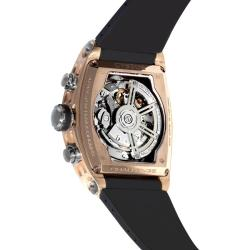 Cvstos Men's 'Challenge Tonneau' Rose Gold Chronograph Watch