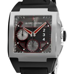 de GRISOGONO Men's POWER N02 'Power Breaker N02' Automatic Chronograph Watch