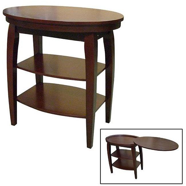 Wood Cherry Magazine Table