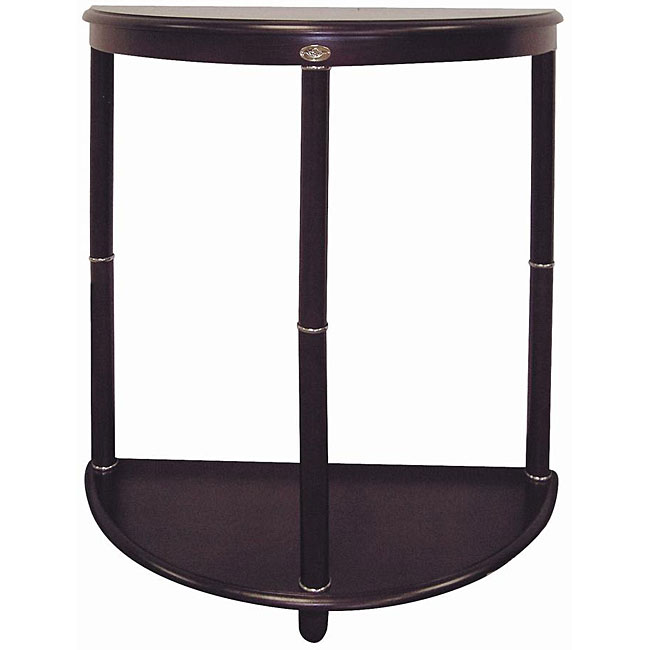 Cherry Crescent End Table