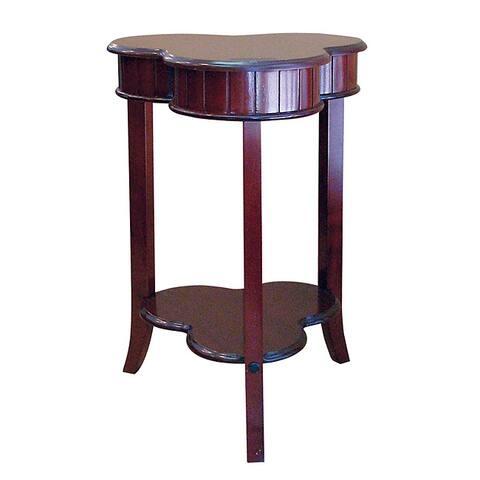 Shamrock Cherry End Table