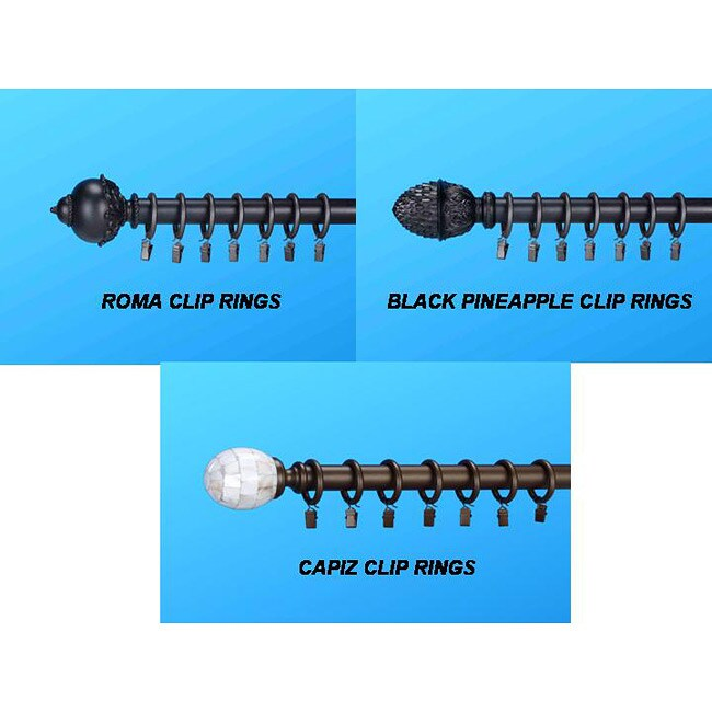 ... Overstock.com Shopping - Great Deals on UHF Curtain Rods & Hardware