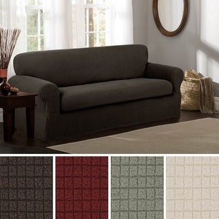 Maytex Reeves Stretch 2-piece Sofa Slipcover