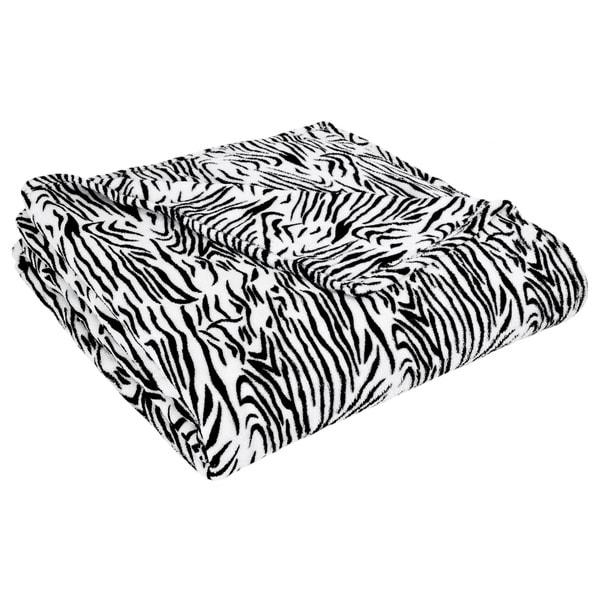 All Seasons Animal Print Microplush Fleece Blanket