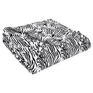 All Seasons Animal Print Microplush Fleece Blanket