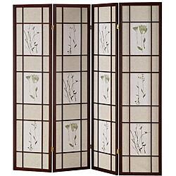 Shoji 4-panel Cherry Screen