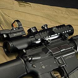 Barska 1-3x30 IR Electro Sight Rifle Scope - Thumbnail 1