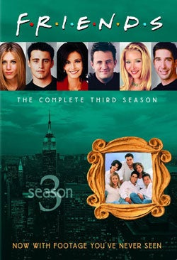 Friends: The Complete Third Season (DVD)