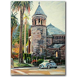 Colleen Proppe 'Chappel' Canvas Art