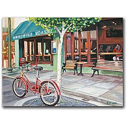 Colleen Proppe 'Coffee Shop' Canvas Art - Thumbnail 0