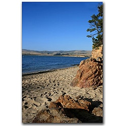 Colleen Proppe 'Colors of Shell Beach' Canvas Art