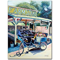 Colleen Proppe 'Farmstand' Canvas Art