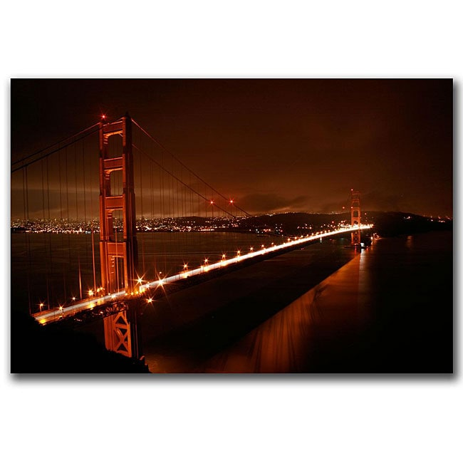 Colleen Proppe 'Golden Gate I' Gallery-wrapped Canvas Art
