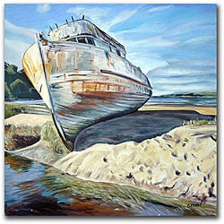 Colleen Proppe 'Inverness Boat' Gallery-wrapped Canvas Art