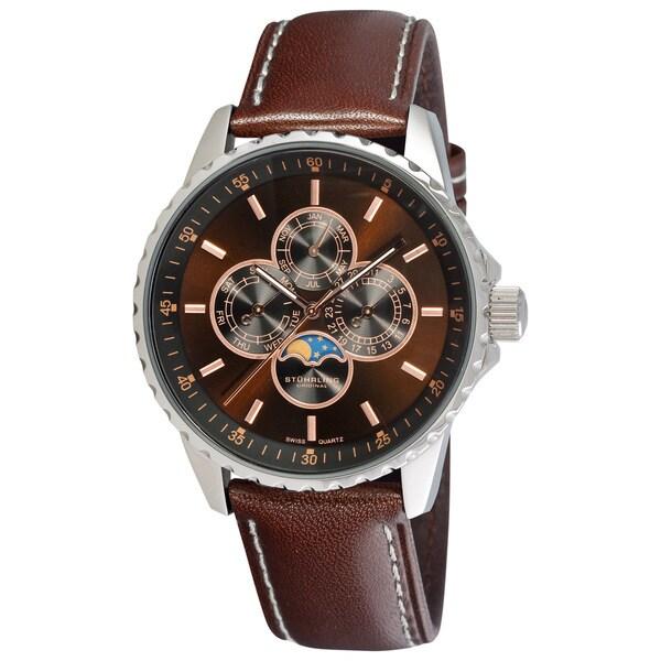 Stuhrling Original Men's 'Artemis Genteel' Swiss Quartz Watch