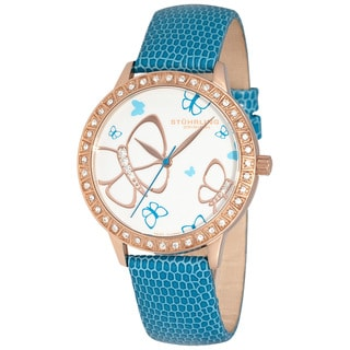 Stuhrling Original Women's 'Fantasia' Goldtone Swiss Quartz Watch