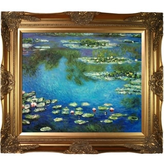 Claude Monet 'Water Lilies' Canvas Art