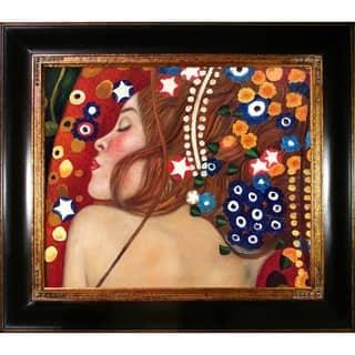 Gustav Klimt 'Sea Serpents IV' Canvas Art|https://ak1.ostkcdn.com/images/products/5129252/P12976521.jpg?impolicy=medium