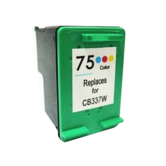 HP 75 Color Ink Cartridge (Remanufactured)