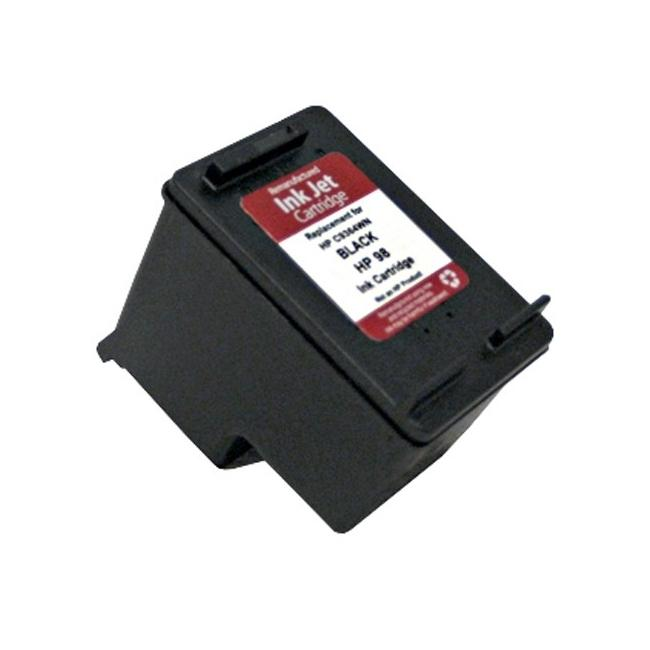 HP Inkjet 98/C9364WN Black Ink Cartridge (Remanufactured)