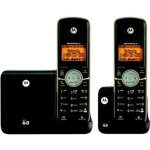 Amazon.com: Motorola DECT 6.0 Cordless Phone with 2 ...
