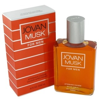 Coty Jovan Musk Men's Men's 8-ounce Aftershave Splash