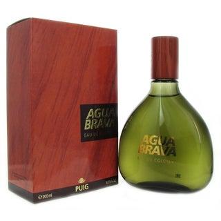 Puig Aqua Brava Men's 6.75-ounce Eau de Cologne Splash