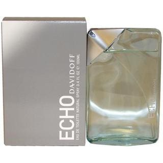 Davidoff Echo Men's 3.3-ounce Eau de Toilette Spray