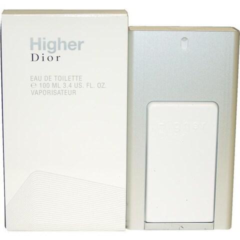 Christian Dior Higher Men's 3.4-ounce Eau de Toilette Cologne Spray