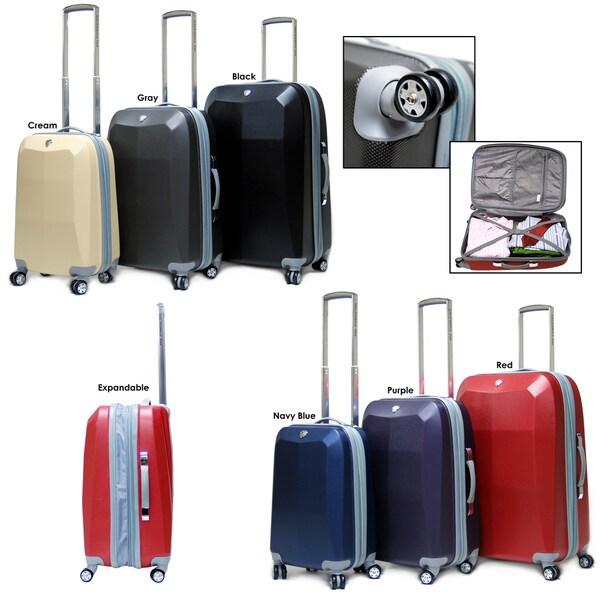 CalPak Diamond 3-piece Hardside Spinner Luggage Set