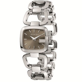 Gucci Women's YA125507 'G-Gucci' Small Stainless Steel Bracelet Watch