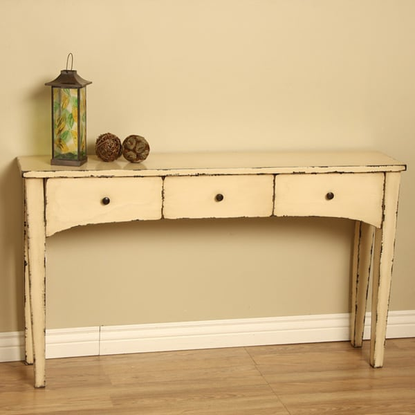 Handmade Wooden 'Emily' Console Table (Indonesia)