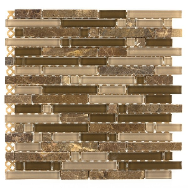 Mixed Marble Stone Tiles H-289 (Case of 11)