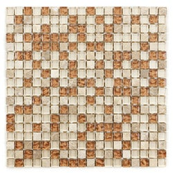 Sand Glass Mosaic Tiles B-221 (Case of 11)