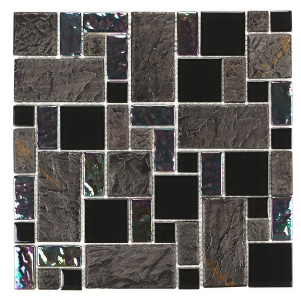 Mixed Marble Stone Tiles H-293 (Case of 11)