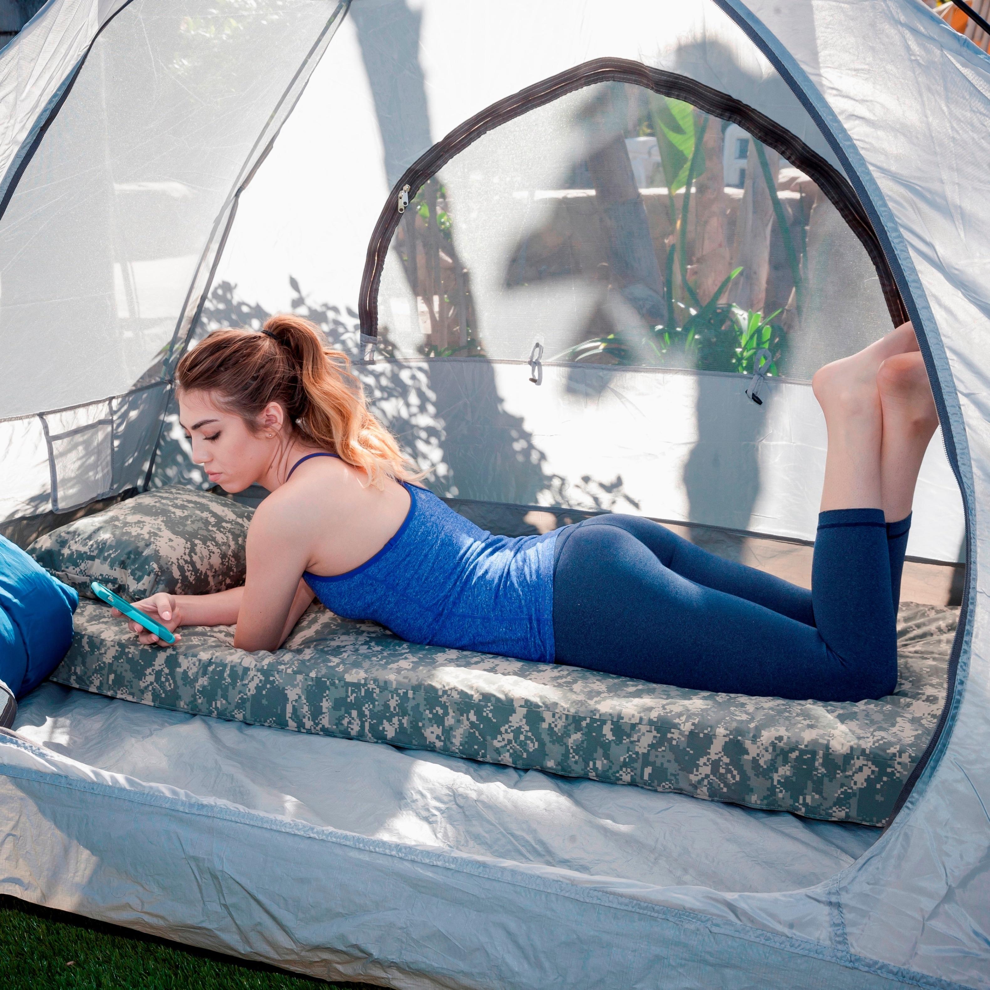 Outdoor Camping Waterproof Tent Foam Orthopedic Camping Sleeping Pad Hiking Tent