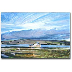Colleen Proppe 'Old Boat' Gallery-wrapped Canvas Art