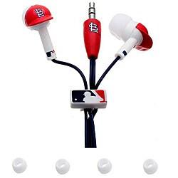 Nemo Digital MLB St. Louis Cardinals Logo Earbud Headphones (Pack of 12)