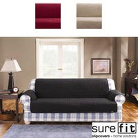 Sure Fit Quilted Cotton Loveseat Pet Throw