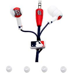 Nemo Digital MLB St. Louis Cardinals Earbud Headphones (Pack of 12)