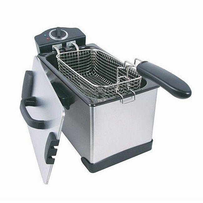 Eware 09125 Professional 2.5-liter Deep Fryer with Detachable Oil Tank