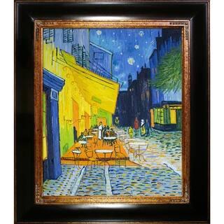 Van Gogh 'Cafe Terrace at Night' Canvas Art