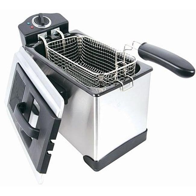 Eware EW-09135 09135 Professional 3.5-liter Capacity Deep Fryer
