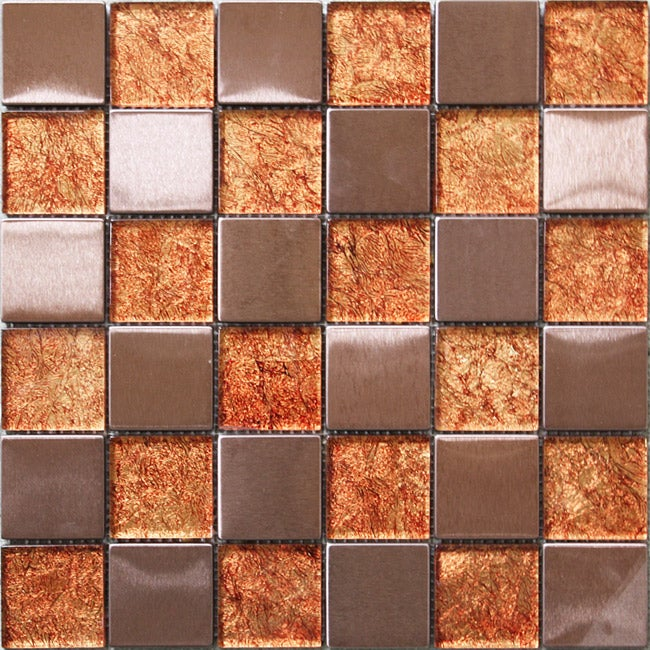Trend Foil Mosaic Tiles I-444 (Case of 11)