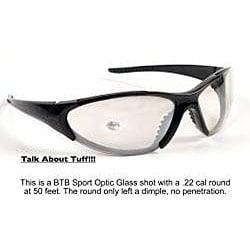 Be the Ball Matte Black BTB 410 Sport Sunglasses - Thumbnail 1