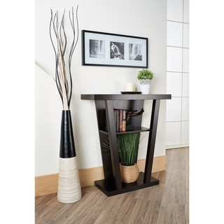 Link to Furniture of America Diff Modern Brown Wood Shelf Occasional Table Similar Items in Living Room Furniture