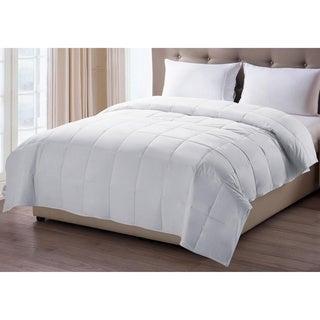 Oversized 300 Thread Count Nanotex Stain Resistant Down Alternative Comforter