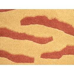 Herat Oriental Indo Hand-tufted Tibetan Wool Rug (2' x 3')